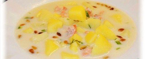 Как приготовить рыбный суп из кижуча - рецепт
