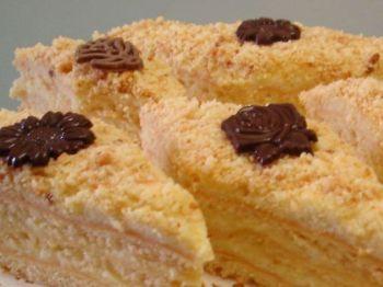 Пирожное с творожным суфле