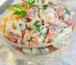 Салат с грибами и курицей  - очень вкусный рецепт с фото
