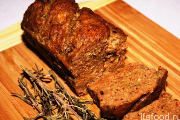 Мясо, запеченное в бородинском хлебе