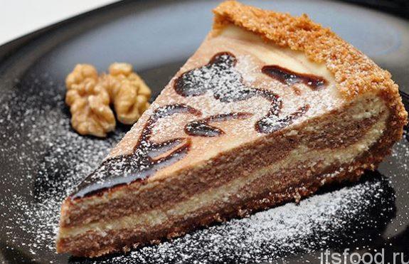 Творожный торт в мультиварке на скорую руку - рецепт с фото