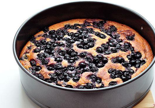 Рецепт пирога с черникой в духовке