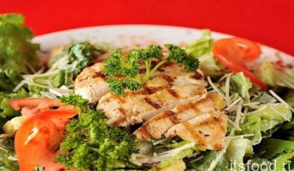 Салат из индейки с сыром: рецепт