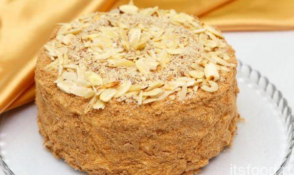 Торт «Медовик» - пошаговый классический рецепт с фото