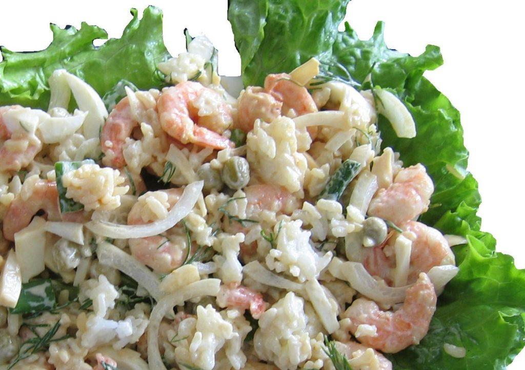мезе начинается рецепты салатов из креветок с фото простые сумеете