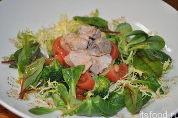 Рецепт салата из печени консервированной трески