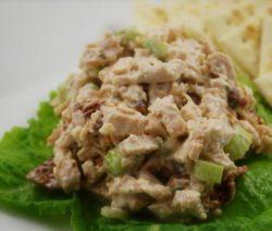 Салат с сельдереем и индейкой