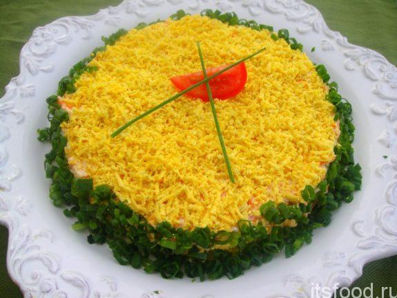 Салат «Вкус слоями»