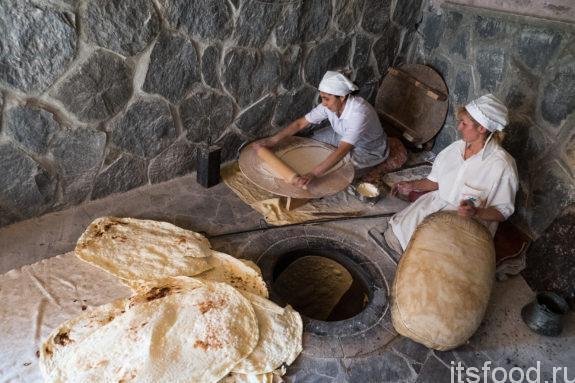 Лаваш включен в наследии ЮНЕСКО