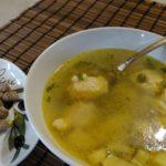 Куриный суп с клецками - пошаговый рецепт с фото