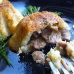 Картофельные кексы с грибами