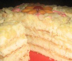 Торт «Миндальный»