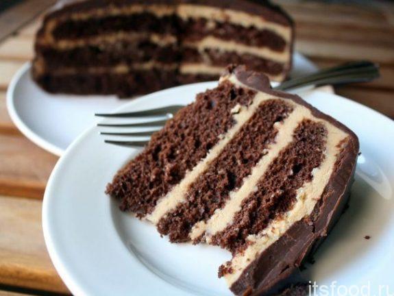 Кофейный торт - рецепт с фото