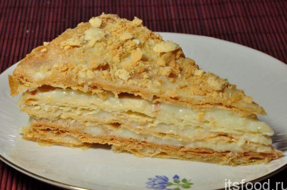 Песочный торт со сгущенкой: классический рецепт