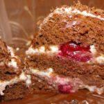 Бисквитный мини - тортик
