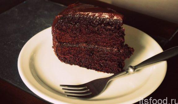 Шоколадно-кофейный торт - рецепт с фото