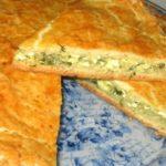 Луковый пирог - простой рецепт с фото