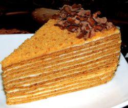 Торт «Медовик» в домашних условиях - рецепт с фото пошагово