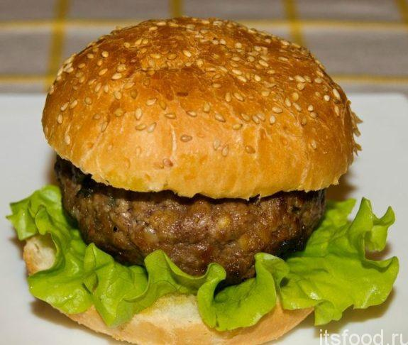 Гамбургер с бараниной