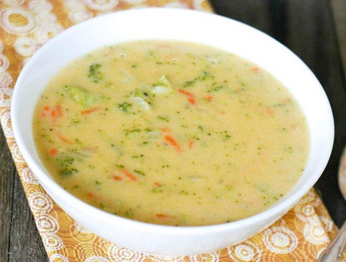 рецепт суп с капустой и плавленными сырками рецепт