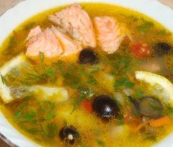Рыбный суп из форели с овощами рецепт с фото