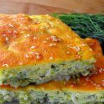 Быстрый заливной капустный пирог «Домашний»