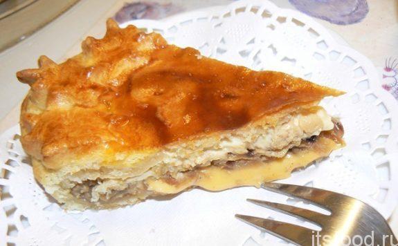 Луковый пирог - пошаговый рецепт с фото
