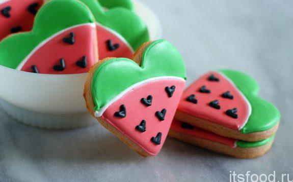 Печенье «Зеленый салют»
