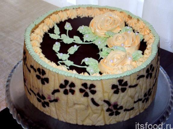 Шоколадный бисквит «Джоконда»