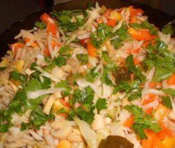 Грибной салат - рецепт с фото