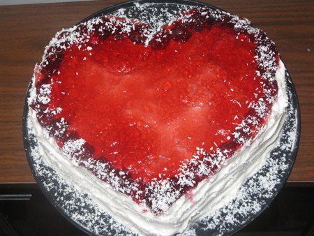 Торт «Любящее сердце»
