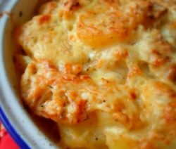 Цветная капуста запеченная в духовке с сыром - рецепт