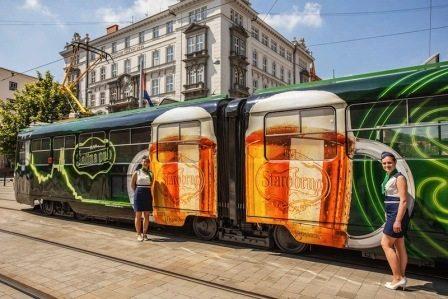 Пивной трамвай - необычный паб
