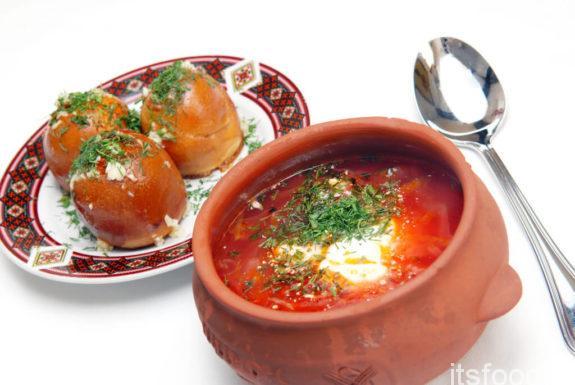 Борщ украинский - классический, пошаговый рецепт с фото