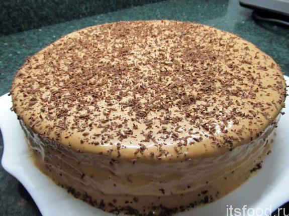 как приготовить простой покупной торт из коржей