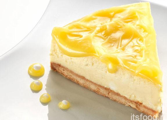 Лимонный чизкейк - рецепт