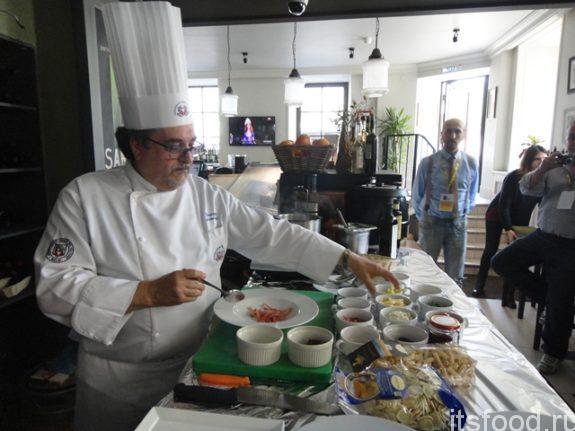 Шеф-повара из Италии поделились своими секретами с петербуржцами