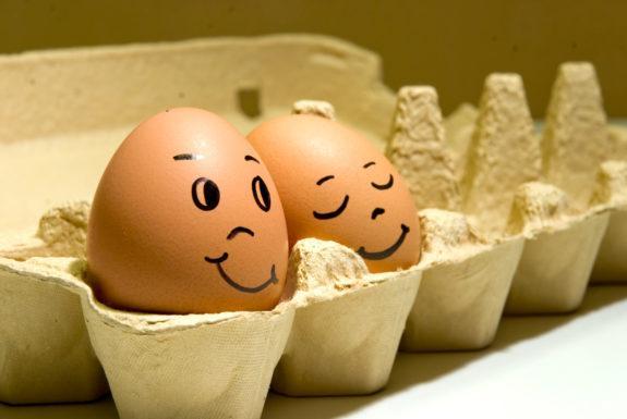 Яйца делают вас счастливее