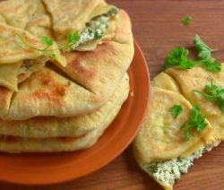 Закуска из творога и сыра