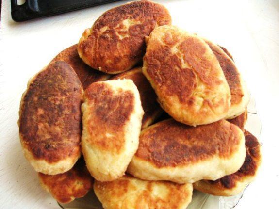 Пирожки с судаком
