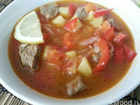 Суп «По-австрийски»