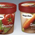 Мороженное со вкусом помидоров и моркови