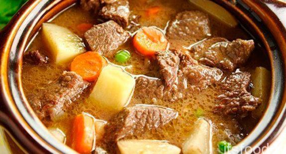 Солянка с мясом - рецепт с фото