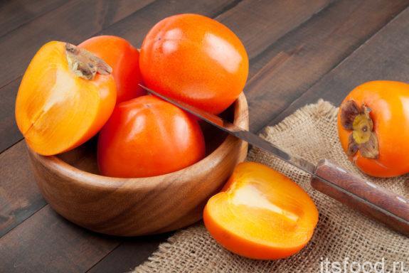 Хурма – источник зимних витаминов
