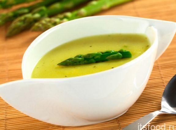 Суп-пюре из спаржи: рецепт с фото