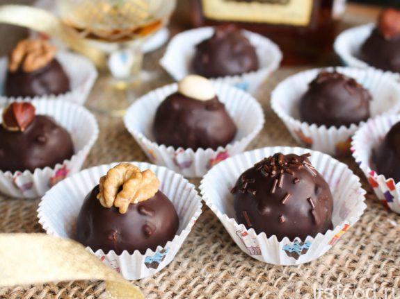 Домашние конфеты с коньяком - рецепт