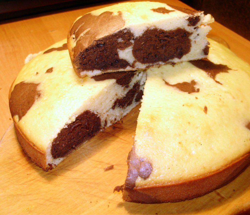 Мраморный пирог рецепт с фото пошагово пространство