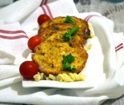 Луково-рыбные котлеты из консервов «Сардина в масле»