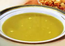 Суп с желтками