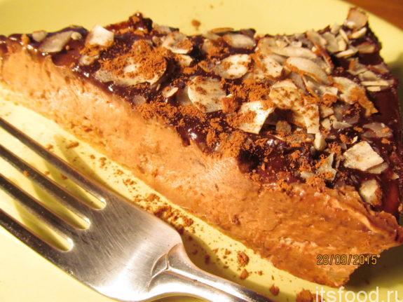 Шоколадный чизкейк - пошаговый рецепт с фото